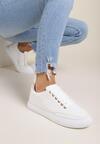 Białe Buty Sportowe Poreithei