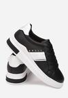 Czarne Sneakersy Phiakea