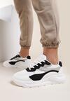 Biało-Czarne Sneakersy Delaguna