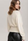 Kremowy Sweter Adrarial
