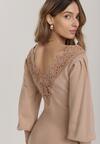 Beżowa Sukienka Ianaris