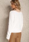 Biały Sweter Astethei