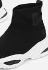 Czarne Sneakersy Zeligina