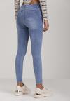 Niebieskie Jeansy Skinny Amaliphite