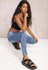 Niebieskie Jeansy Skinny Euphedora