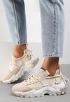 Beżowe Sneakersy Pevralni