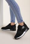 Czarne Sneakersy Strag