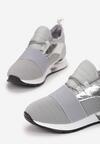 Szare Sneakersy Strag
