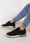 Czarne Buty Sportowe Dorieciane