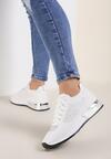 Białe Buty Sportowe Dorieciane