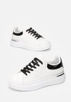 Biało-Czarne Sneakersy Nautiguna