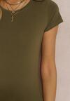 Khaki T-shirt Aqeany