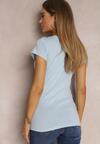 Jasnoniebieski T-shirt Adranna