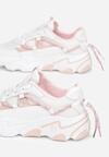 Biało-Różowe Sneakersy Salaphyphise
