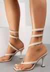 Beżowe Sandały Thanertes