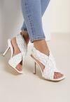 Białe Sandały Daphneilla