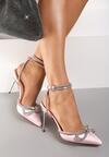 Różowe Sandały Oriphosise
