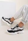 Biało-Czarne Sneakersy Calyphophi