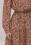 Łososiowa Sukienka Zeleshi