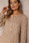 Beżowa Sukienka Kathishae