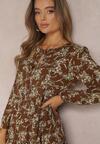 Brązowa Sukienka Doriphe