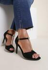 Czarne Sandały Astreis