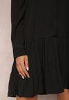 Czarna Sukienka Savaraxaura