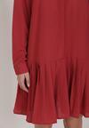 Czerwona Sukienka Savaraxaura