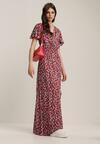 Czerwona Sukienka Parlenia