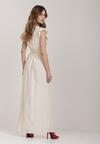 Kremowa Sukienka Thronacia
