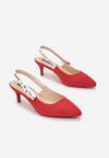 Czerwone Sandały Lamelato