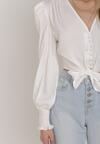 Biała Bluzka Pethassea