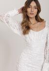Biała Sukienka Aphyse