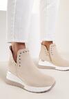 Jasnobeżowe Sneakersy Neamethe