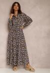 Fioletowa Sukienka Kelathyia