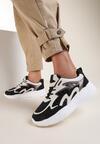 Czarne Sneakersy Undirene