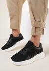 Czarne Sneakersy Ahen