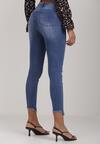 Niebieskie Jeansy Skinny Anarsus
