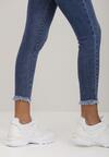 Niebieskie Jeansy Skinny Crosos