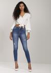 Niebieskie Jeansy Skinny Grisgami