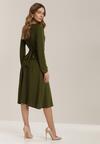 Zielona Sukienka Nerigana