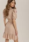 Beżowa Sukienka Laophite