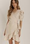 Jasnobeżowa Sukienka Laophite