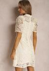 Kremowa Sukienka Mellobelle