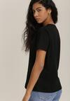 Czarny T-shirt Selmayo