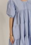 Niebieska Sukienka Adrienora