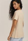 Beżowy T-shirt Sislerro