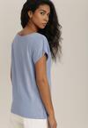 Niebieski T-shirt Lorlea
