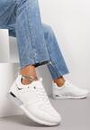 Białe Sneakersy Abrielle