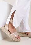 Beżowe Sandały Avry
